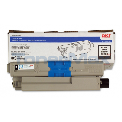 OKI C530DN TONER CARTRIDGE BLACK
